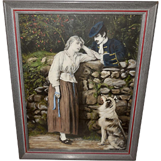 Effie Deans Vintage Print by Sir John Everett Millais
