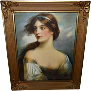 Haskell Coffin Vintage Print of Lovely Lorna Doone