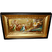 Guido Reni Vintage Print of Aurora in Shadow Box Frame