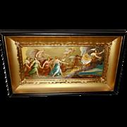 Guido Reni Vintage Print of Aurora in Shadow Box Frame