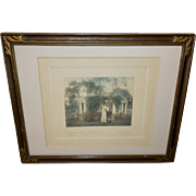 Moran Vintage Photograph Print in Wallace Nutting Style