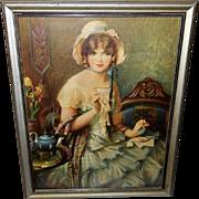 Gene Pressler Vintage Print of Lucille