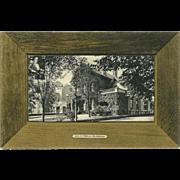 Rotograph Company 1907 Postcard of the John Milburn Residence in Buffalo NY