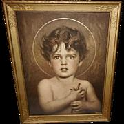 C. Bosseron Chambers Vintage Print of Saint John the Baptist