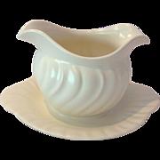 Mid-Century Franciscan Pottery Coronado Off-White Gravy Boat
