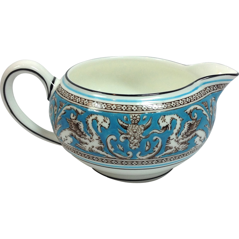 wedgwood bone china florentine w2714 turquoise with fruit center 146 from maggiebelles on ruby lane. Black Bedroom Furniture Sets. Home Design Ideas