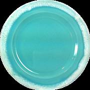 1960s Hull Crestone Turquoise 7-5/8 inch Salad Plate