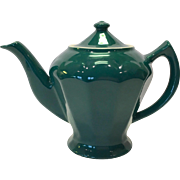 Hall China Turquoise Albany Teapot