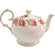 Lady Alexander Rose Bone China Teapot Bell China/Queen Anne
