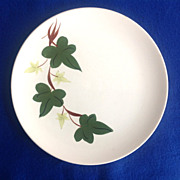 Southern Potteries Blue Ridge Baltic Ivy Luncheon Plate - Shipping Included