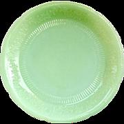 Alice Jadeite Dinner Plate Anchor Hocking 1940s