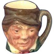 Royal Doulton Tiny Character Jug Paddy Name in Backstamp