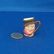 Royal Doulton Tiny Character Jug Sam Weller - One of the Original Twelve Tinies