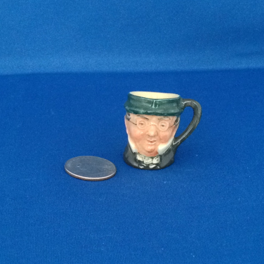 Royal Doulton Tiny Character Jug Mr. Pickwick - One of the Original Twelve Tinies