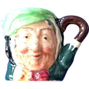 Royal Doulton Tiny Character Jug 'Sairey Gamp' - One of the Original Twelve Tinies