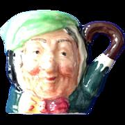 Royal Doulton Tiny Character Jug 'Sairey Gamp' - One of the Original Twelve Tinies