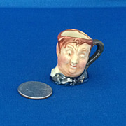 Royal Doulton Tiny Character Jug Fat Boy - One of the Original Twelve Tinies