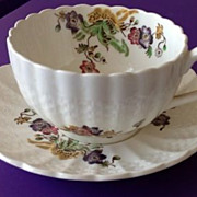 Copeland Spode Wicker Lane Cup and Saucer