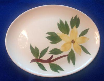 Stetson USA Golden Star Oval Platter Circa 1940s