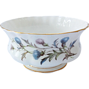 Royal Albert Bone China Brigadoon Open Sugar Bowl Thistle Design