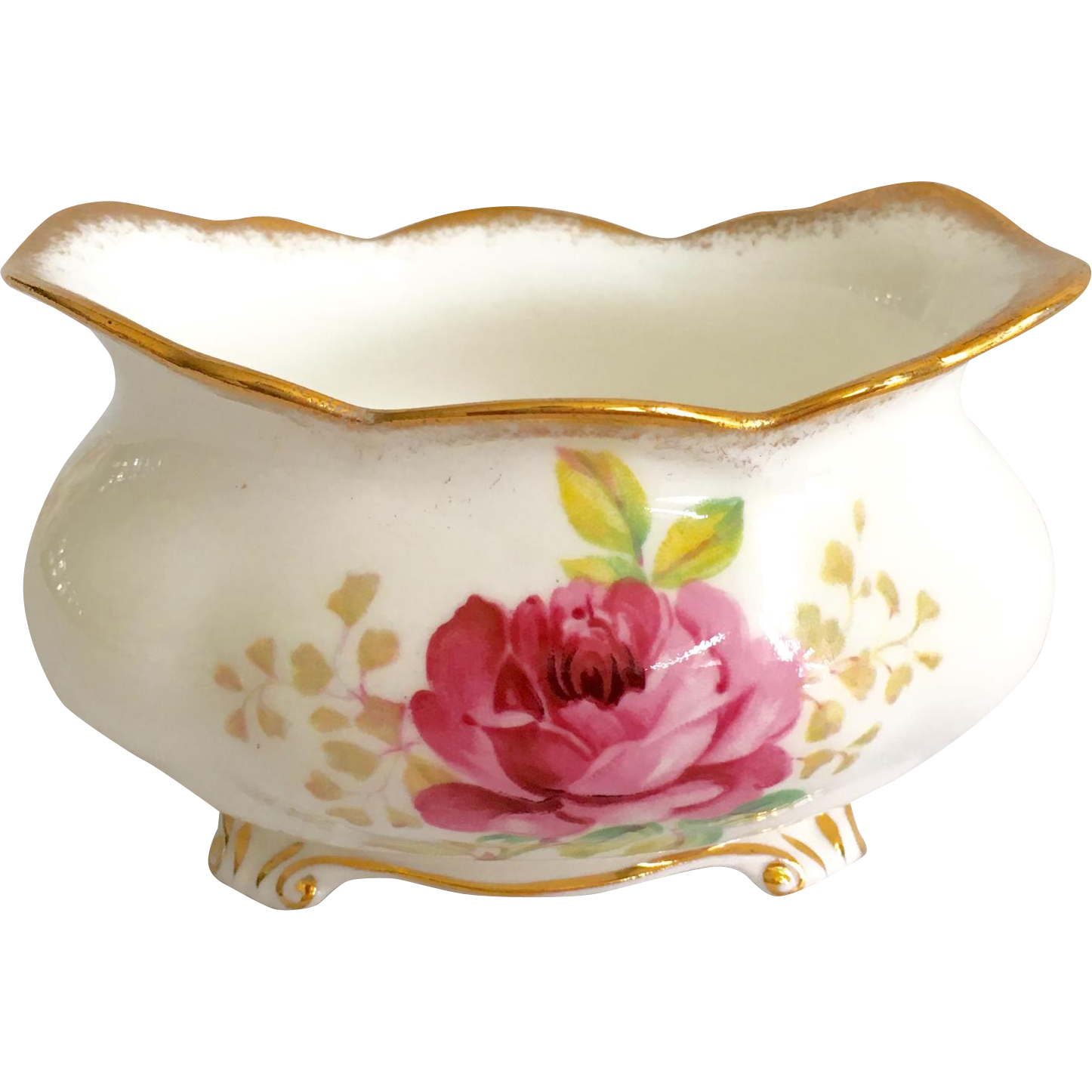 Royal Albert Bone China American Beauty Oval Sugar
