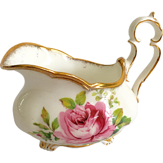 Royal Albert Bone China American Beauty Oval Creamer