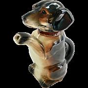 Erphila Begging Dachshund Dog Teapot U.S. Zone Germany