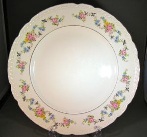 Governor's Mansion Vogue Ceramic Industries Natchez Vintage 1949 Dinner Plates - Set of 6