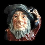 Royal Doulton Miniature Rip Van Winkle Character Jug