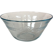 Fire King Sapphire Blue Glass Custard Cup