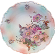 Schumann Bavaria Wild Rose 11-3/4 Inch Decorative Plate