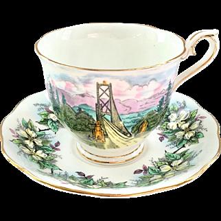 Royal Albert Bone China Hudson's Bay Company Teacup and Saucer