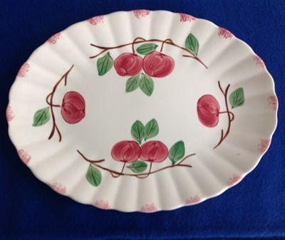 Blue Ridge Southern Potteries Autumn Apple Serving Platter