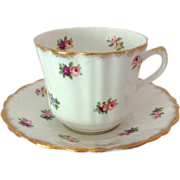 Royal Stuart Bone China by Spencer Stevenson Rosebuds Teacup and Saucer