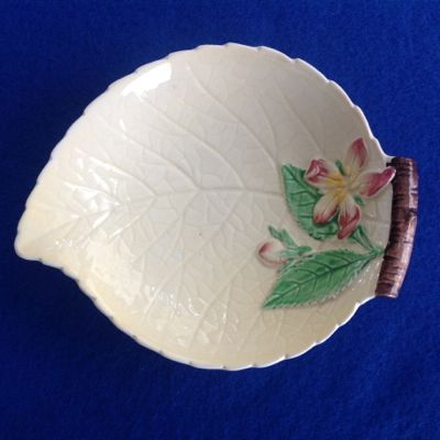 Carlton Ware Apple Blossom Open Jam Dish