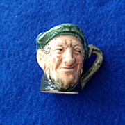 Royal Doulton Tiny Character Jug Auld Mac - One of the Original Twelve Tinies