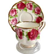 Royal Albert Bone China Old English Rose Teacup and Saucer