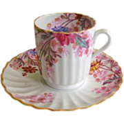 Copeland Spode Chelsea Gardens Demitasse Cup and Saucer