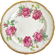Royal Stafford Bone China England Berkeley Rose Salad Plate