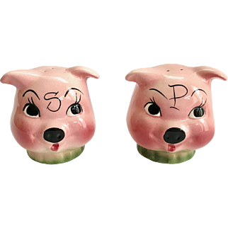 DeForest Make a Pig of Yourself Salt and Pepper Shakers