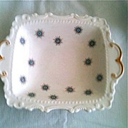 Royal Albert Bone China Star of Eve Blue Centers Candy Dish