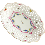 Oscar de la Renta West Germany Antoinette Reticulated Bowl