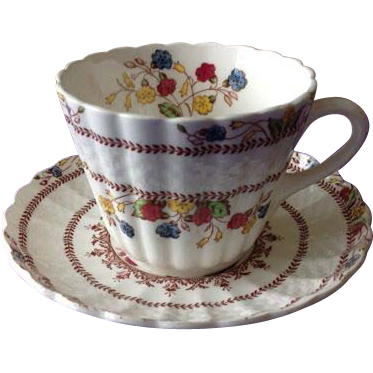 Copeland Spode Cowslip Cup and Saucer