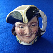 Royal Doulton Captain Henry Morgan 2 1/2 inch Character Jug