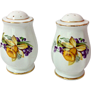 Royal Standard England Woodland Wonder Bone China Daffodil Salt and Pepper Shakers