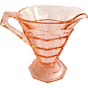 Indiana Tea Room Pink Depression Glass Creamer