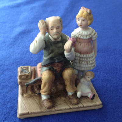 Norman Rockwell 'The Cobbler' Figurine
