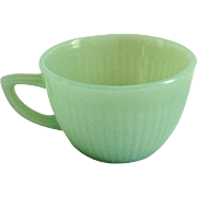 Fire King Jade-ite Jane Ray Demitasse Cup