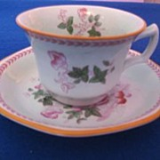 Adams Metz Calyx Ware Cup and Saucer