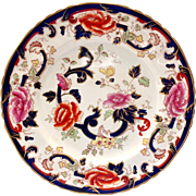 Mason's England Mandalay Blue Ironstone Dinner Plate